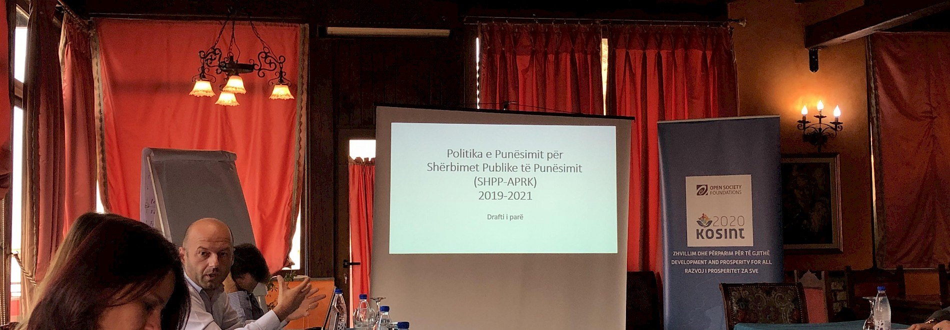 Workshop on discussing the employment policy of the Employment Agency of the Republic of Kosovo
