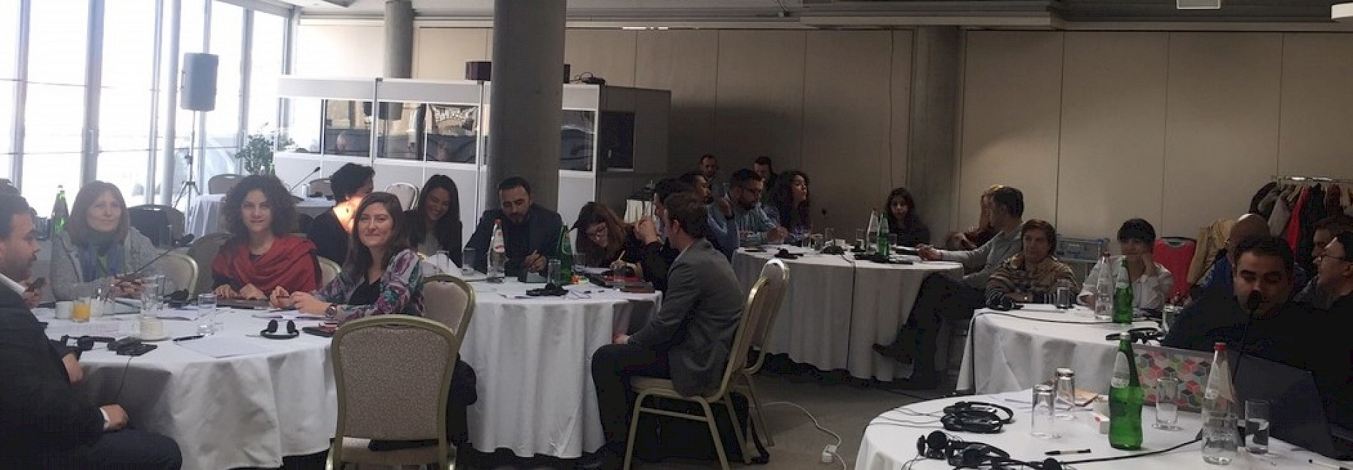 Workshop organized by RIO with civil society organizations from the region